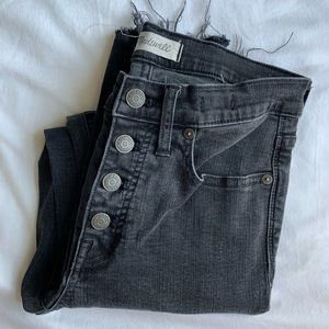 "Madewell 9"" High Rise Skinny Size 27"